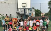 Žáci 1. st. si vyzkoušeli základy basketbalu
